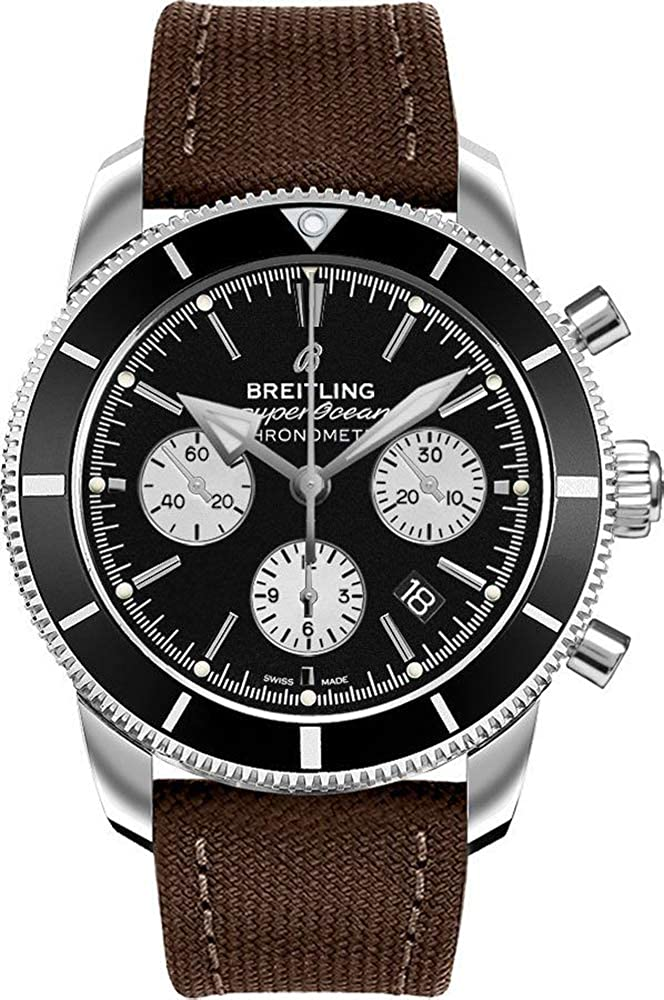 Breitling Superocean Heritage Black Dial Men's Watch AB016212/BG82-108W