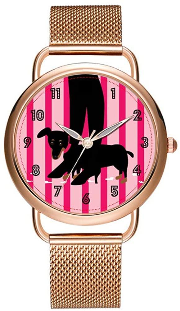 Luxury Christmas Watches Women's Fashion Birthday Gift Japanese Quartz Girl's Rose Gold Bracelet Watch Girls and Handbags Watch