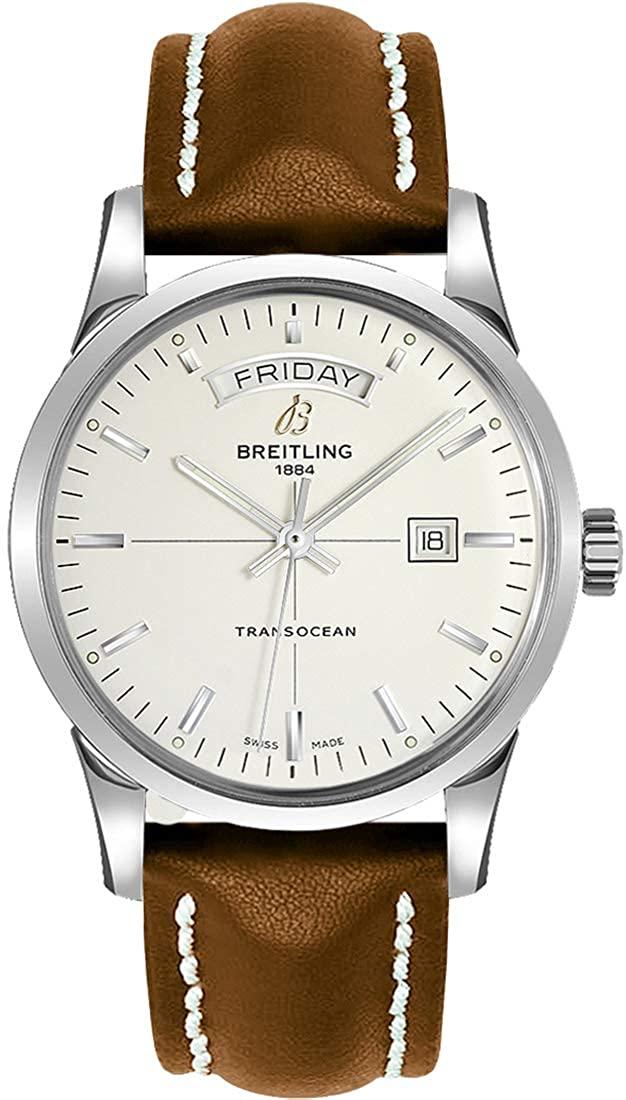 Breitling Transocean Day Date Luxury Watch A4531012/G751-438X