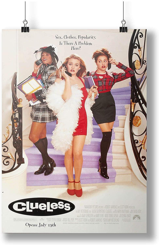 INNOGLEN 1995 Clueless Movie Film A0 A1 A2 A3 A4 Satin Photo Poster p10426h