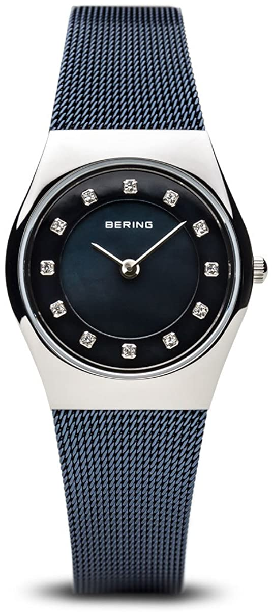 BERING Time | Women's Slim Watch 11927-307 | 27MM Case | Classic Collection | Stainless Steel Strap | Scratch-Resistant Sapphire Crystal | Minimalistic - Designed in Denmark