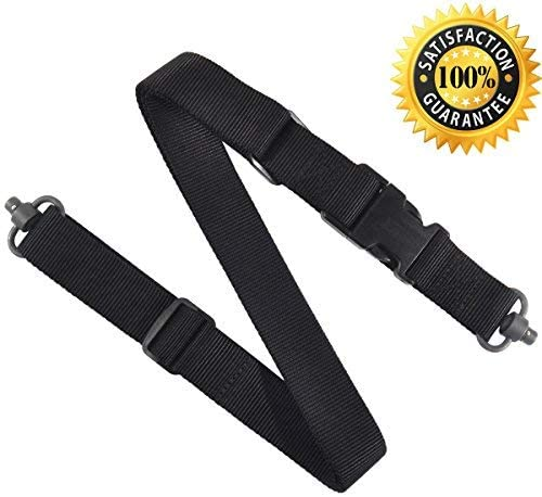 JIALITTE Rifle Nylon Outdoor Adjustable Belt Strap with 1.25