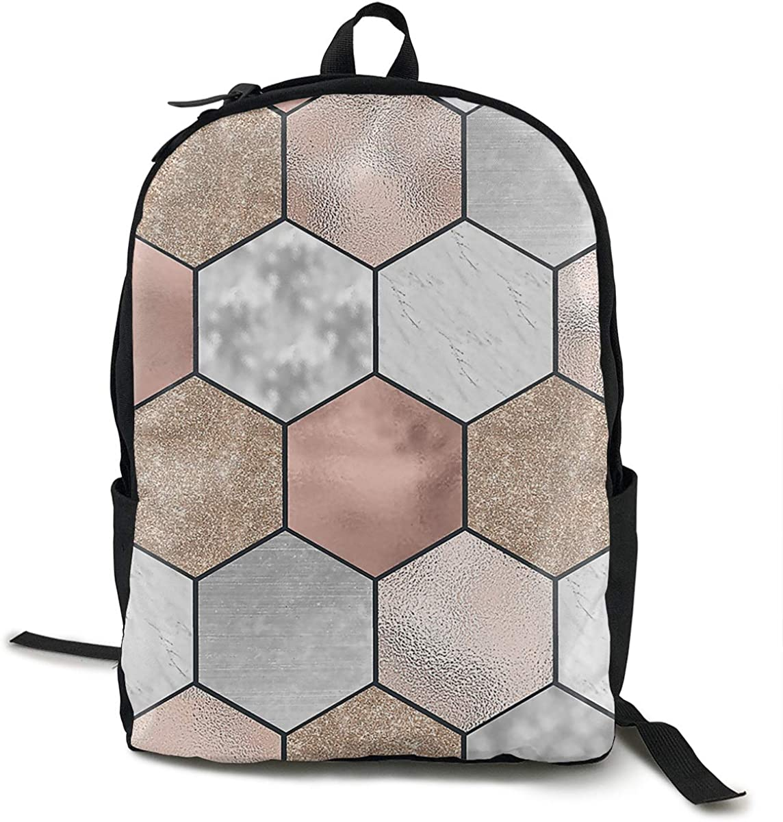 O-X_X-O Casual Backpack Rucksack for Laptop Books Unisex School Travel Backpack