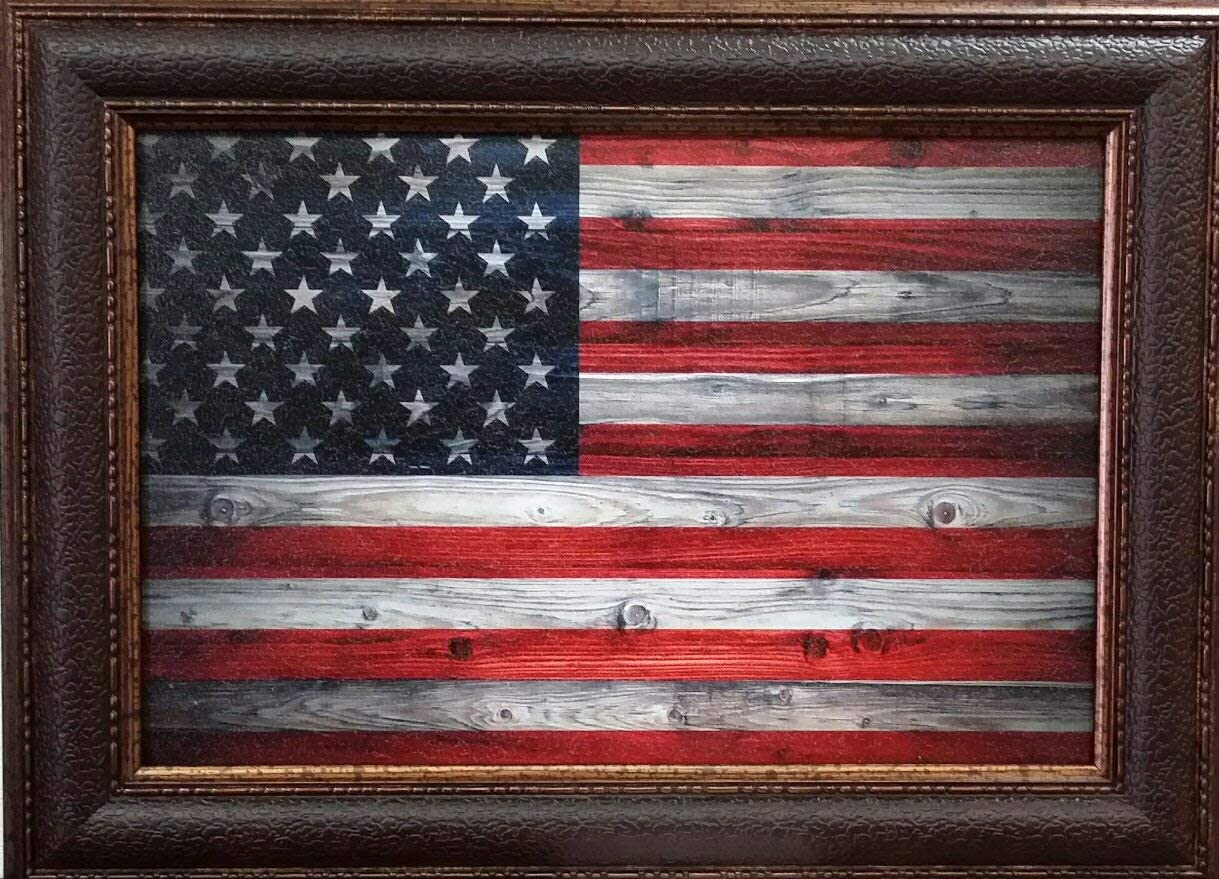 WALL ART GIANT | American Flag | Textured American Flag | Various Sizes