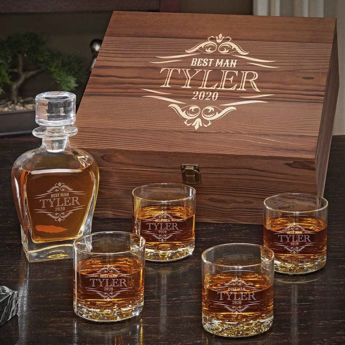 Wilshire Personalized Whiskey Gift Set (Custom Product)