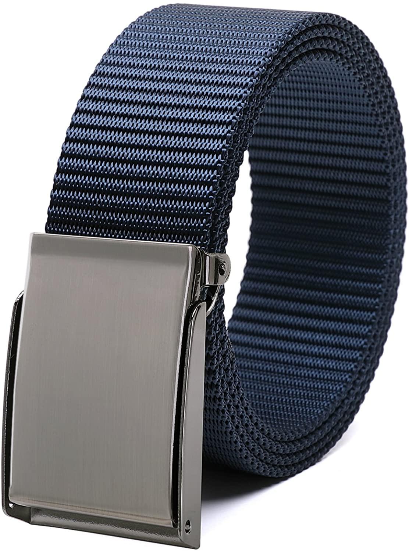 Matasuha Canvas Belt Elastic Nylon Webbing Outdoor Military Belt Adjustable Trim To Fit