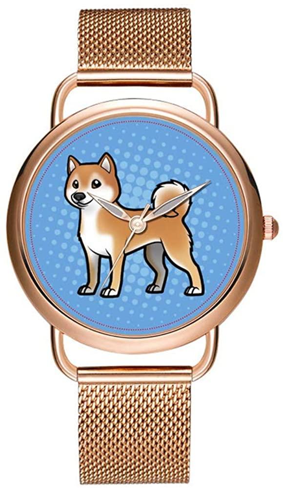 Luxury Christmas Watches Women's Fashion Birthday Gift Japanese Quartz Girl's Rose Gold Bracelet Watch Customizable Pet Wristwatch