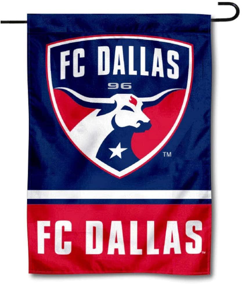 WinCraft FC Dallas Double Sided Garden Flag