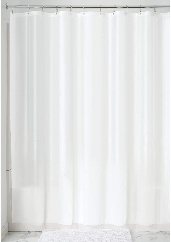 iDesign Waterproof PEVA Bathroom Shower Curtain Liner - 72