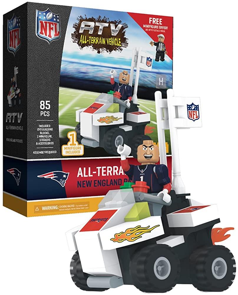 OYO Sportstoys - NFL 4 Wheel ATV with Mascot, New England Patriots