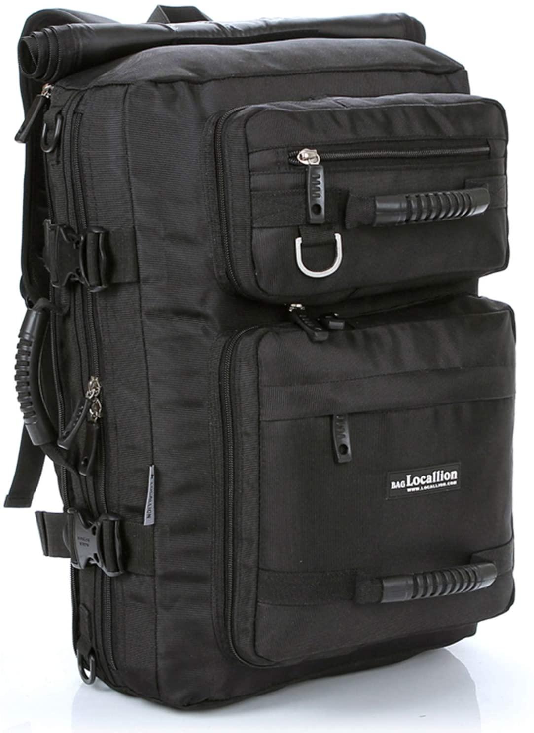 Scioltoo 30l Travel Laptop Backpack 15.6-inch Unisex Nylon Hiking Travel Bag.