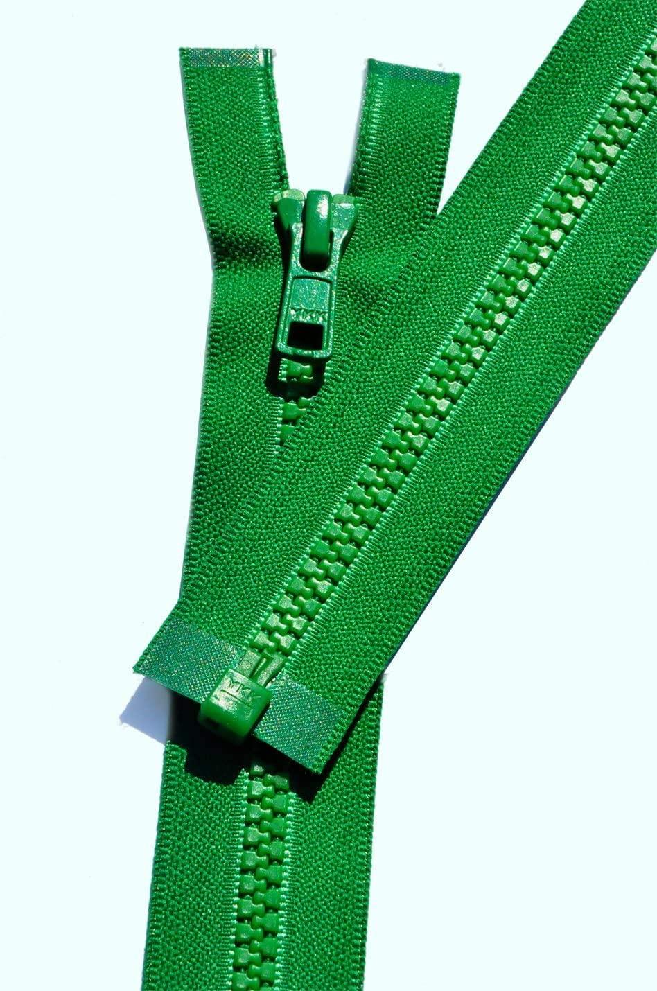 YKK Vislon Zipper, 5 Molded Plastic Separating Bottom 14