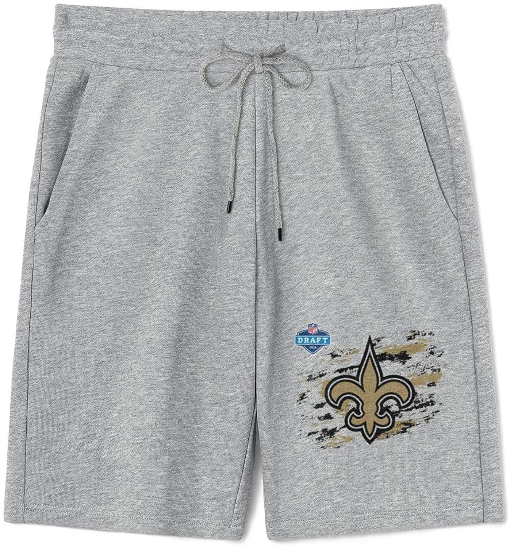 Mens Cotton Athletic Shorts Classic Jogger Pockets Short Pants