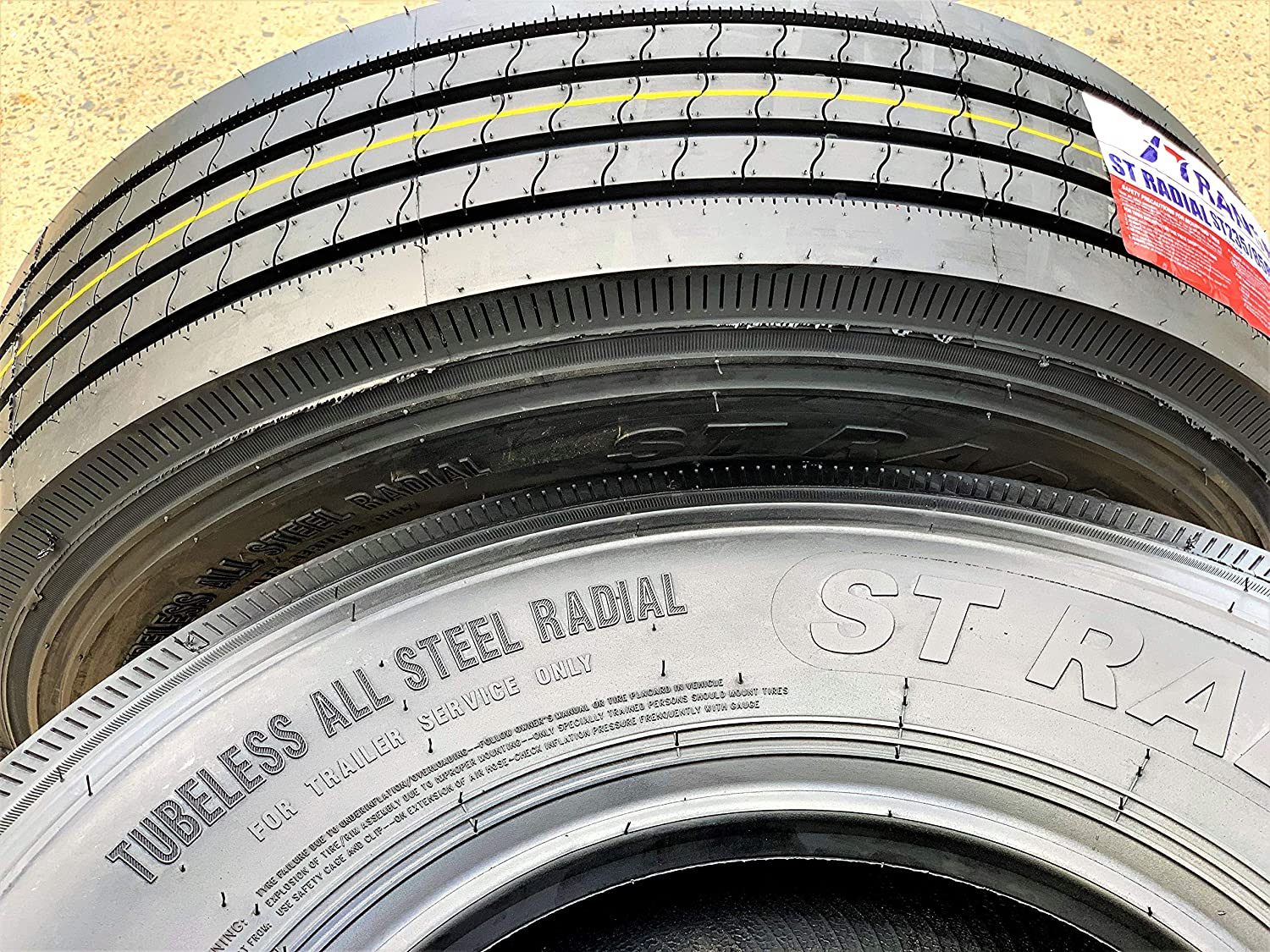 Transeagle ST Radial All Steel Heavy Duty Premium Trailer Tire-ST235/80R16 129/125M LRG 14-Ply