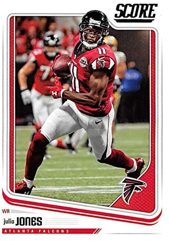 Julio Jones football card (Atlanta Falcons, WR) 2018 Score #15