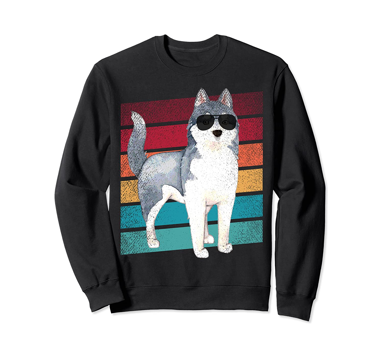 Siberian Husky Dog Funny Mom Dad Clothing Sweatshirt