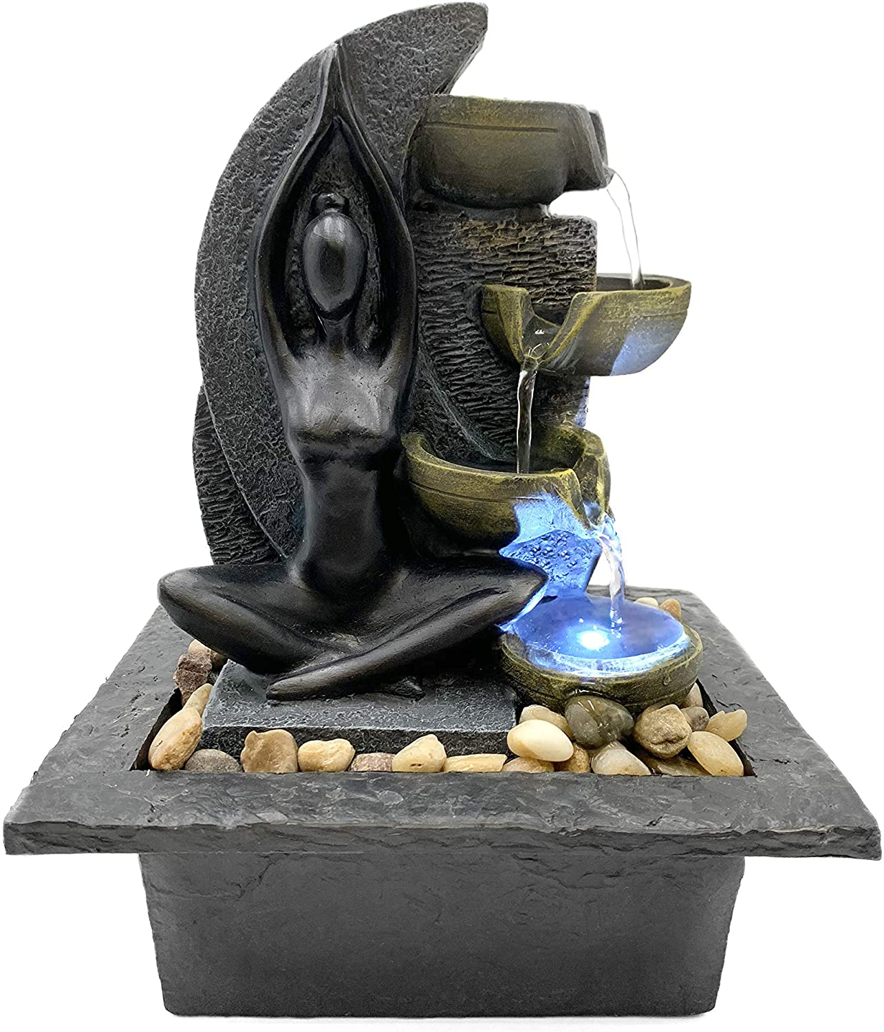 DANNER MANUFACTURING 03822 Felicity Table Top Meditation Fountain