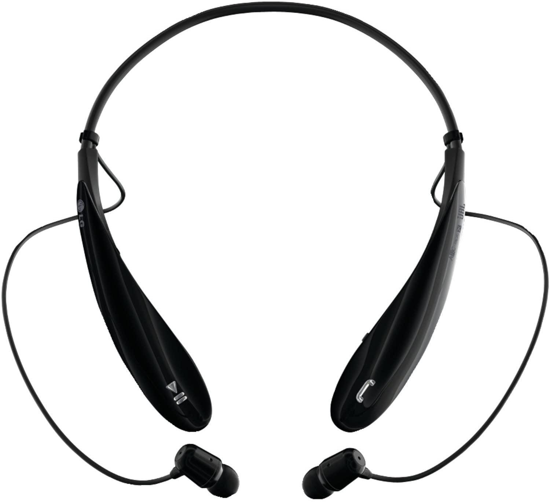 LG Electronics Tone Ultra (HBS-800) Bluetooth Stereo Headset - Black (Renewed)