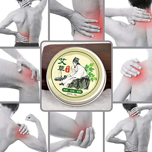 Chinese Herbal Medicine Wormwood Mosquito Repellent Pure Herbal Moxa Moxibustion Cream Mugwort Acupuncture Tsao 20g