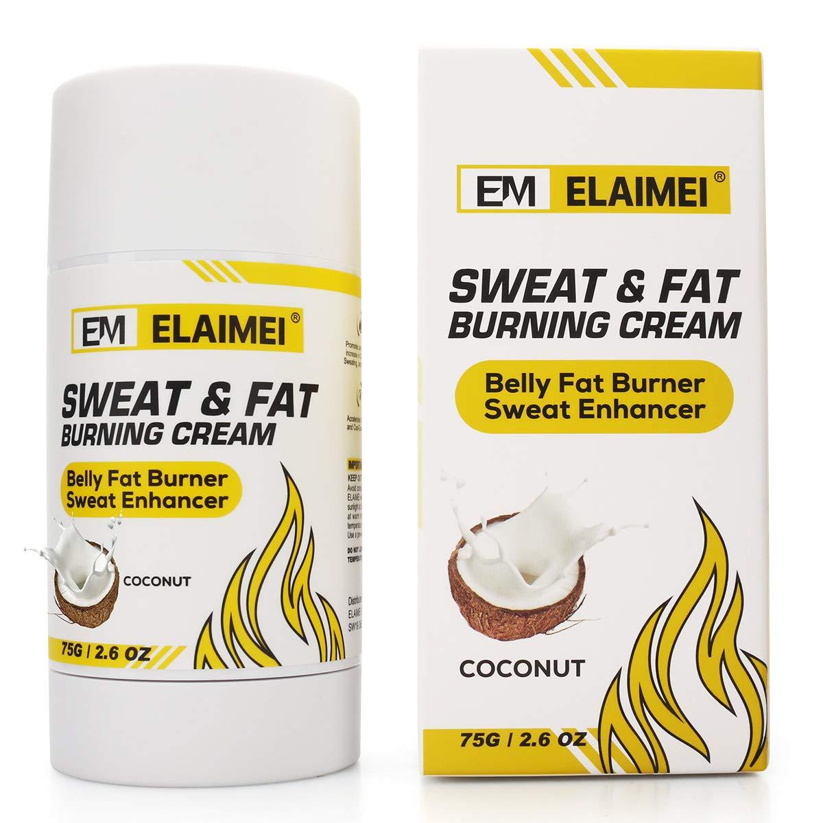 Hot Cream Abdominal Cream Rotating Abdominal Cream Belly for Cellulite Removal Cream Fat Burner Six Pack Abs Muscle Stimulator Creams Leg Body Waist Effective Anti Cellulite Fat Burning - white