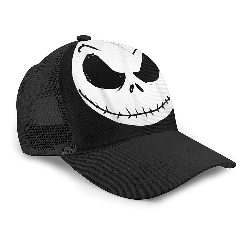 Jack Skellington Unisex Bending-Edge Mesh Refreshing And Breathable Fashionable Baseball Cap