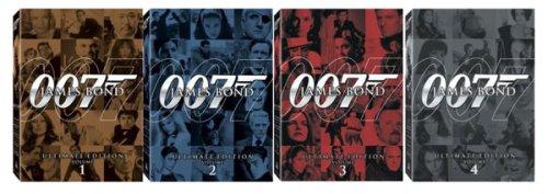 James Bond Ultimate Edition Boxed Sets Bundle