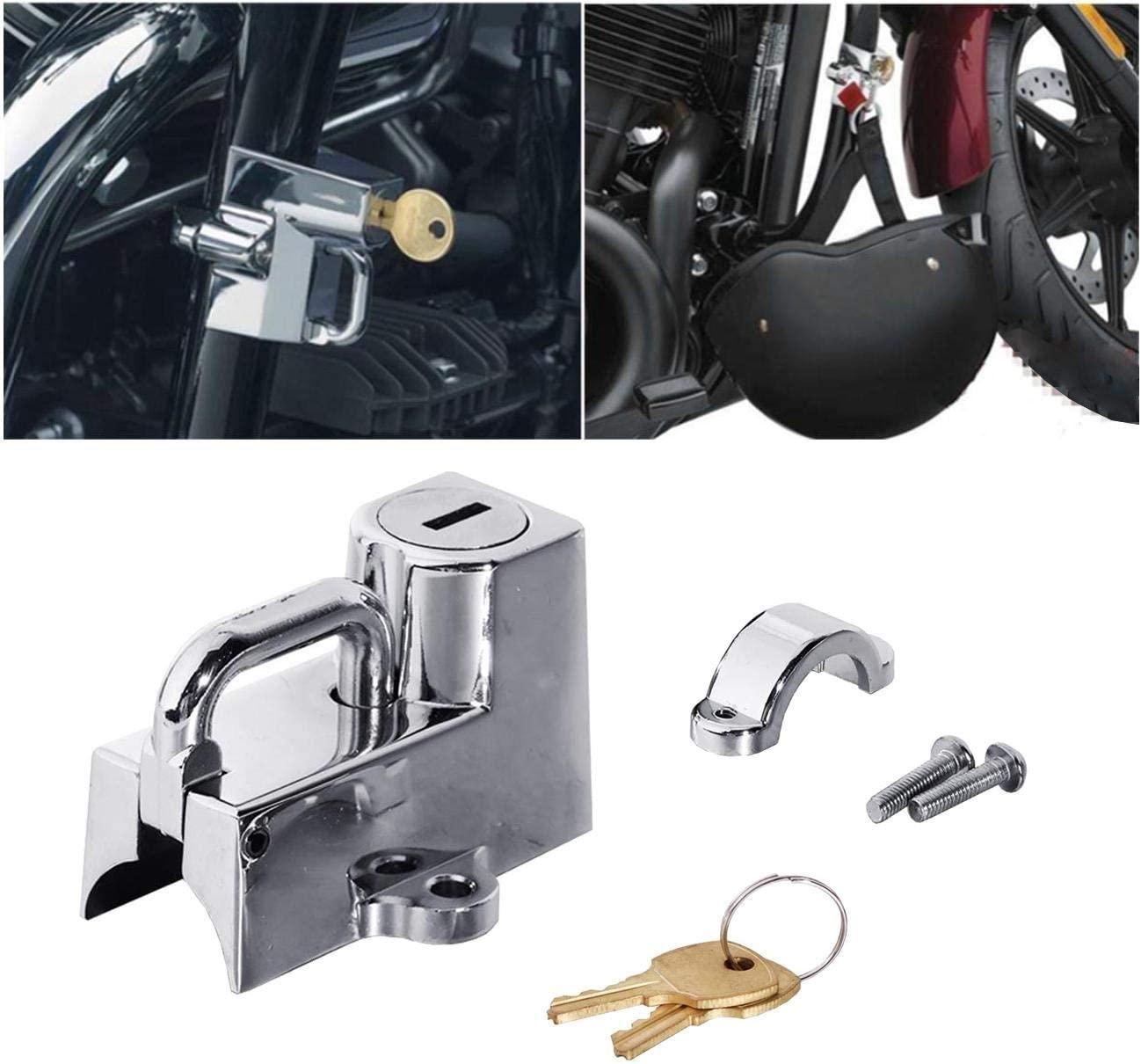 Xiteman For Kuryakyn Cruiser Motorcycle Helmet Lock 22mm 7/8 For All 1-1/4 Inch To 1-1/2 Inch