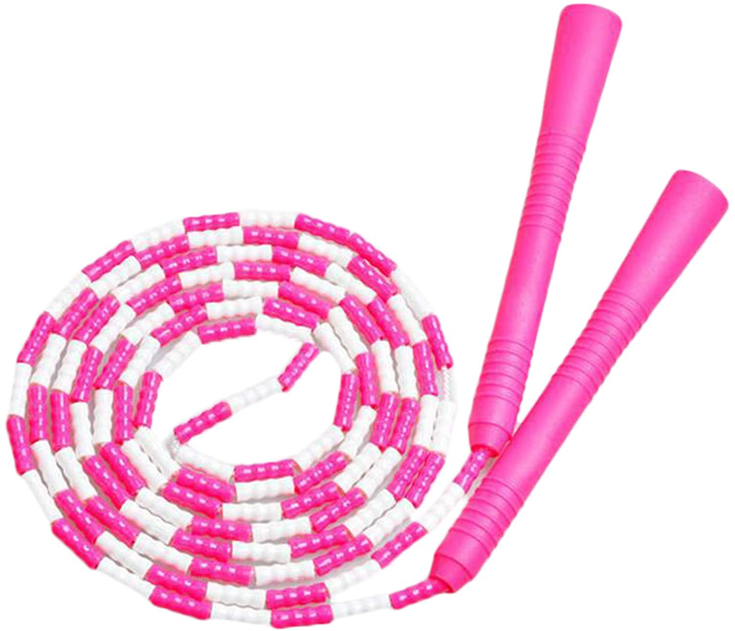 Soluo Jump Rope, Soft Beaded Jump Rope for Keeping Fit,Training,Workout and Weight Loss for Men Women Kids Ideal