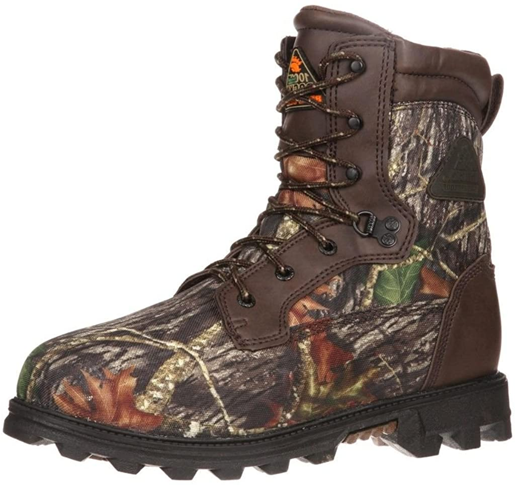 Rocky Bearclaw Big Kids' Waterproof 1000G Insulated Outdoor Boot Size 5(ME)