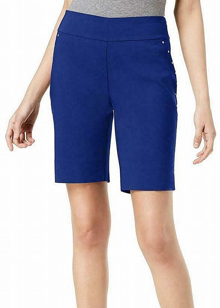 INC International Concepts Stud-Trim Bermuda Shorts
