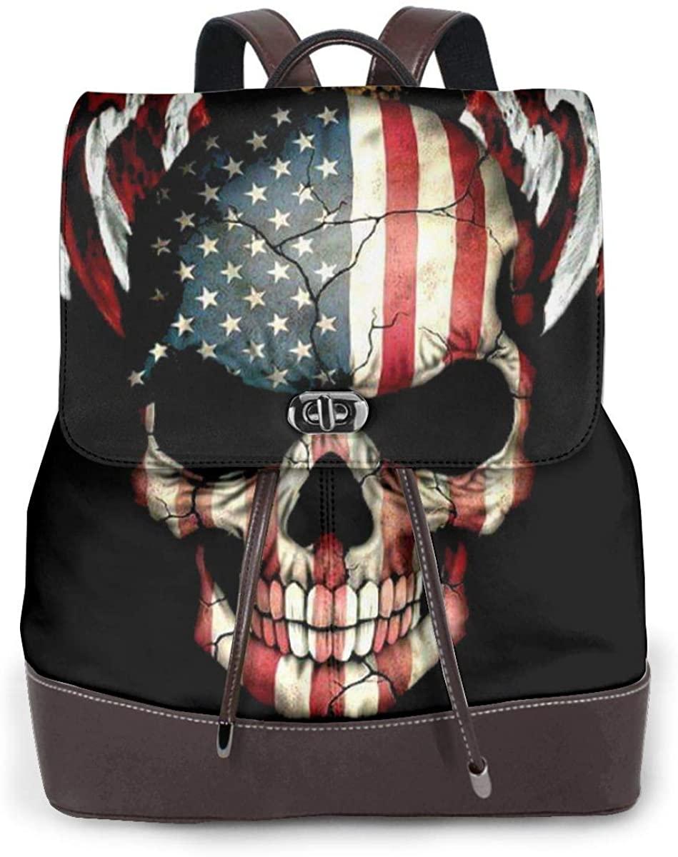 2nd Amendment High Capacity Leather Backpack