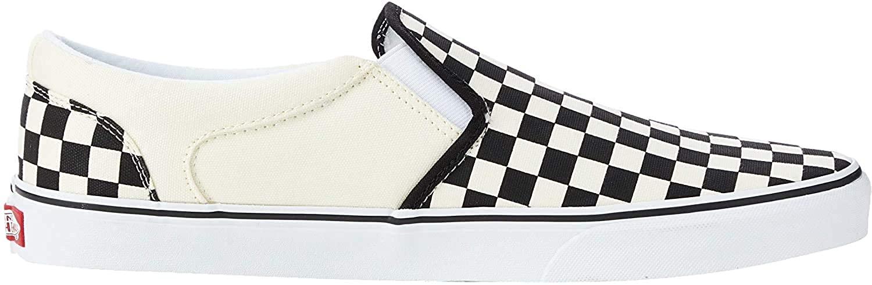 Vans Asher Skate Shoe Slip-On Checkerboard