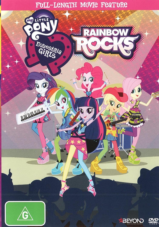 My Little Pony Equestria Girls Rainbow Rocks   NON-USA Format   PAL   Region 4 Import - Australia