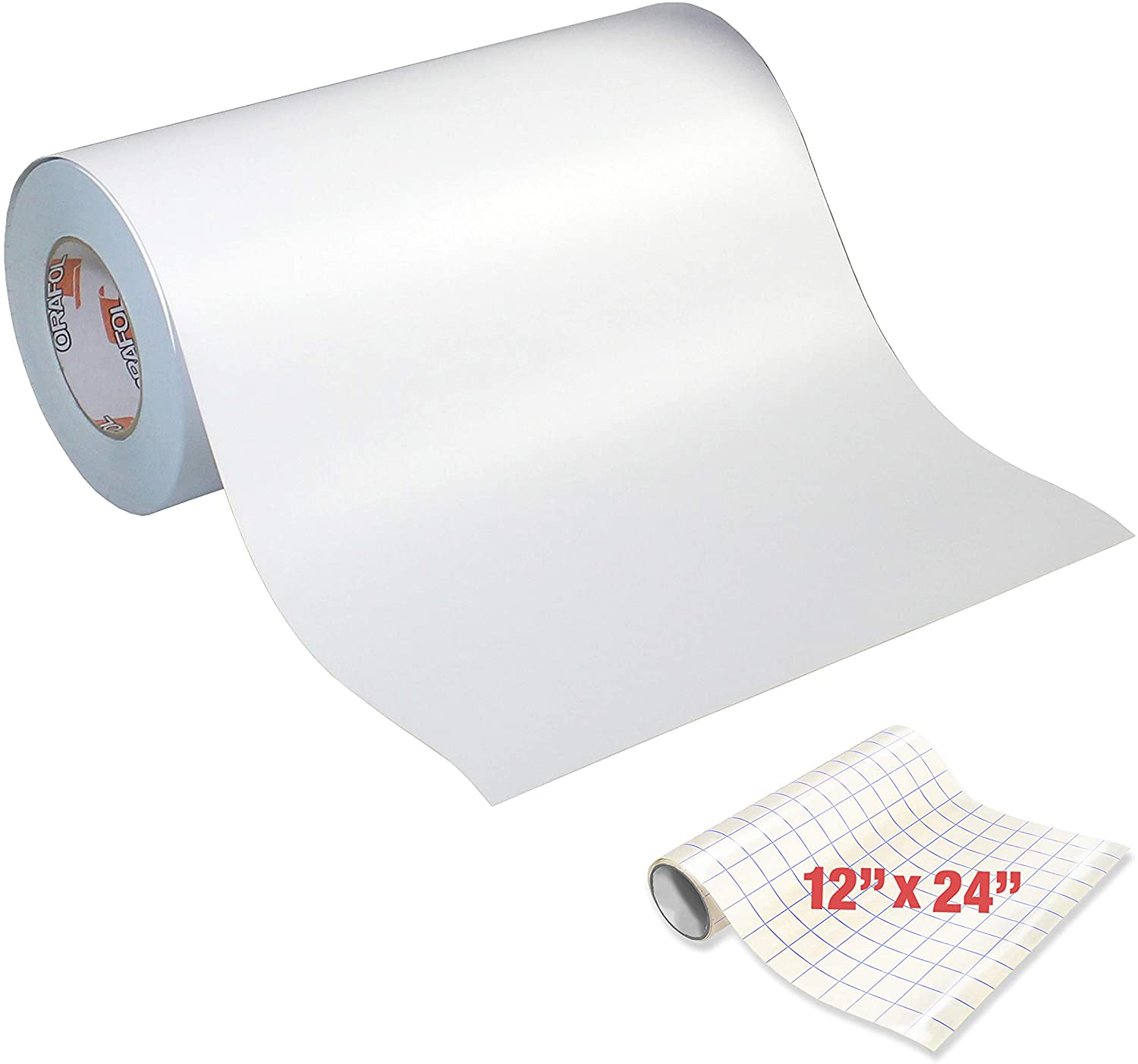 Oracal 631 Roll of Matte White Vinyl for Cricut & Cameo (12 x 10yrds (30ft))