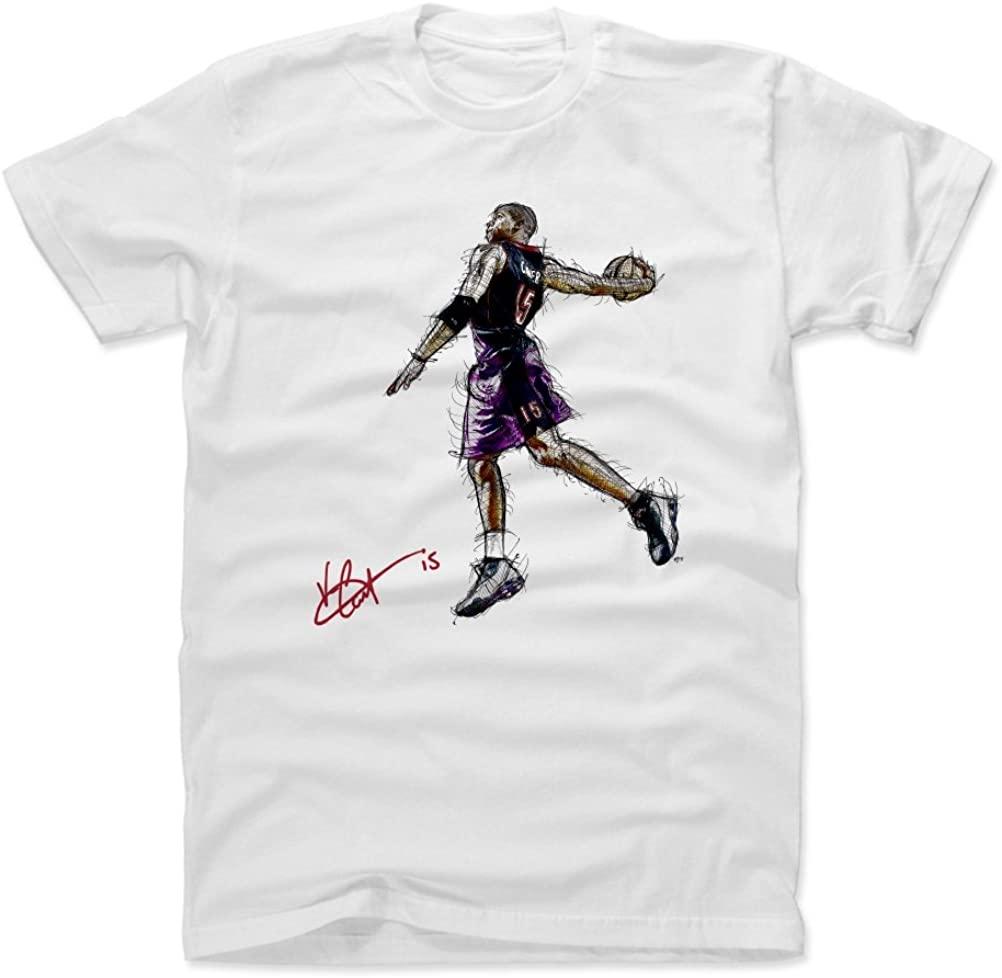 500 LEVEL Vince Carter Shirt - Vintage Toronto Basketball Men's Apparel - Vince Carter Windmill Signature PR
