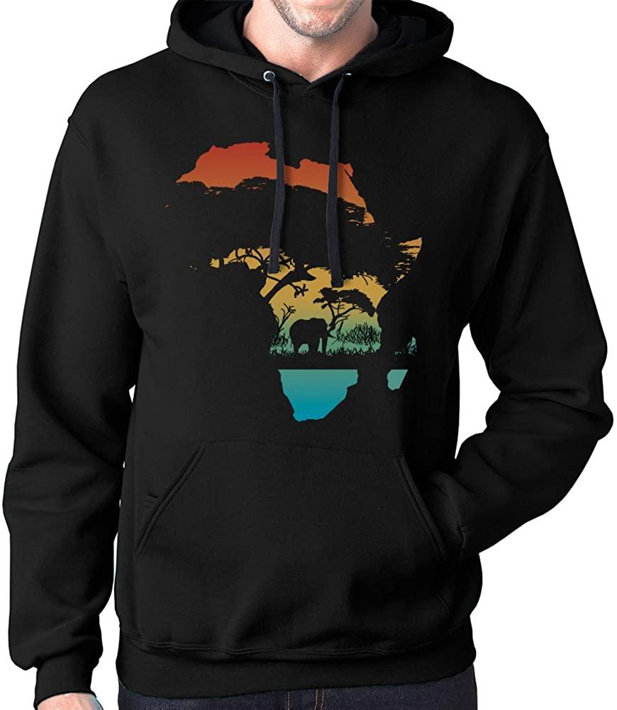 Gbond Apparel Africa Continent Hoodie Sweatshirt