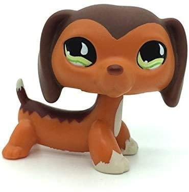 N/N Littlest Pet Shop, LPS Toy Savannah Savvy Dachshund Dog Authentic Rare QP