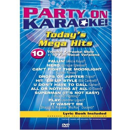Party On Karaoke // Todays Mega Hits / 10 Tracks / 10 Full Vocal Versions