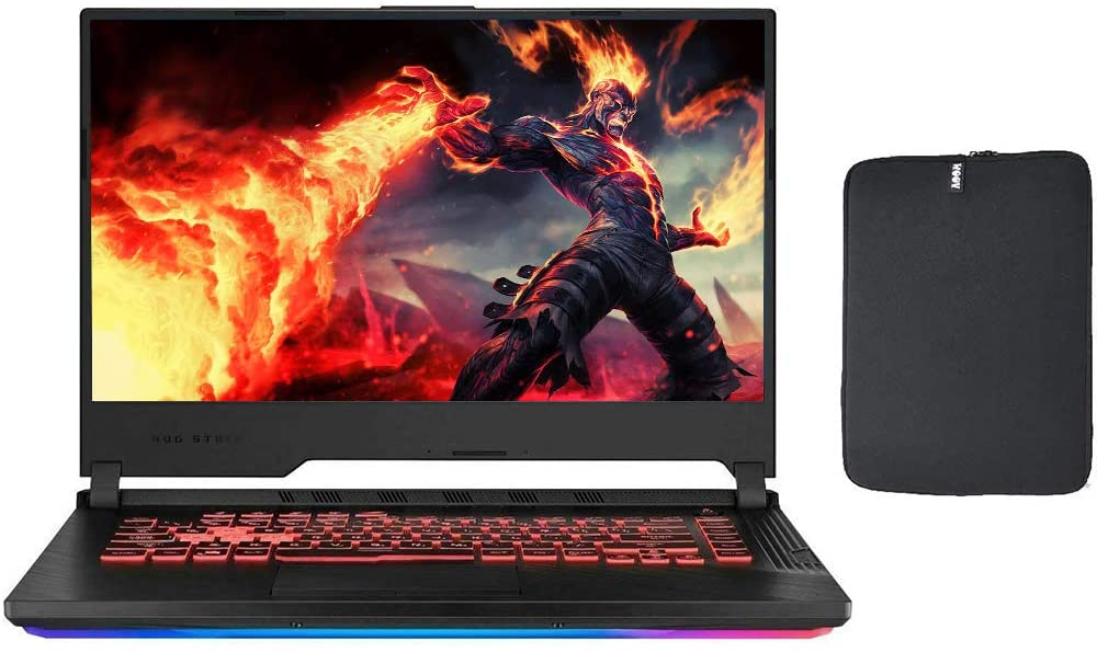 2020 Asus ROG 15.6 Inch FHD 1080P Gaming Laptop (Intel 6-Core i7-9750H up to 4.50 GHz, 24GB DDR4 RAM, 1TB M.2 SSD (Boot) + 500GB HDD, GeForce GTX 1650 4GB, Backlit KB, WiFi, HDMI, Windows 10)