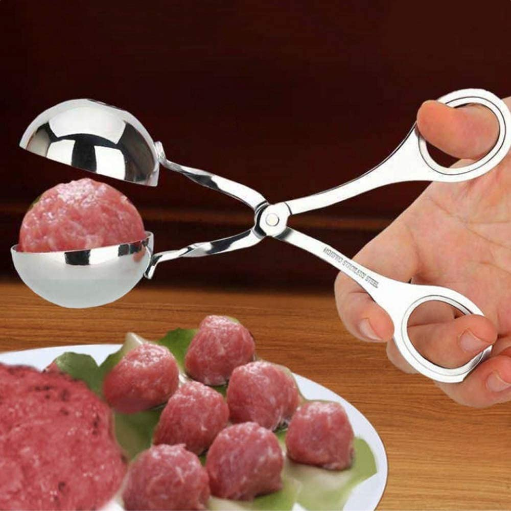 Convenient Meatball Maker Stainless Steel Stuffed Meatball Clip DIY Fish Meat Rice Ball Maker