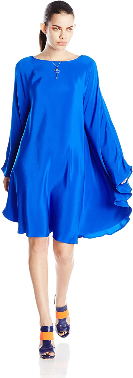 Paola Hernandez Women's Poncho Dress with Elastic