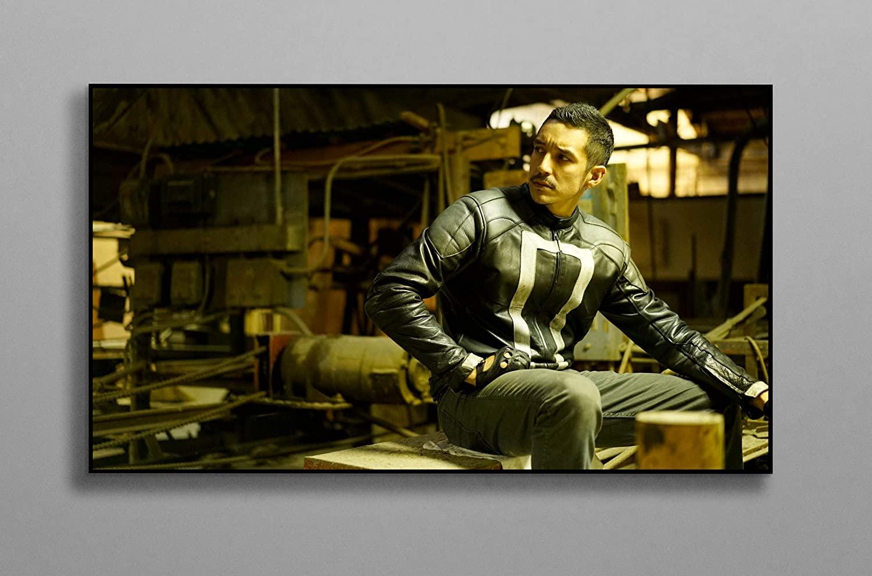 Ghost Rider Moment Poster Wall Decor Print Canvas Art Wall Art Print Gift Unframed Printing Size - 11x17 18x24 24x32 24x36 (S - 11x17 (28x43cm))