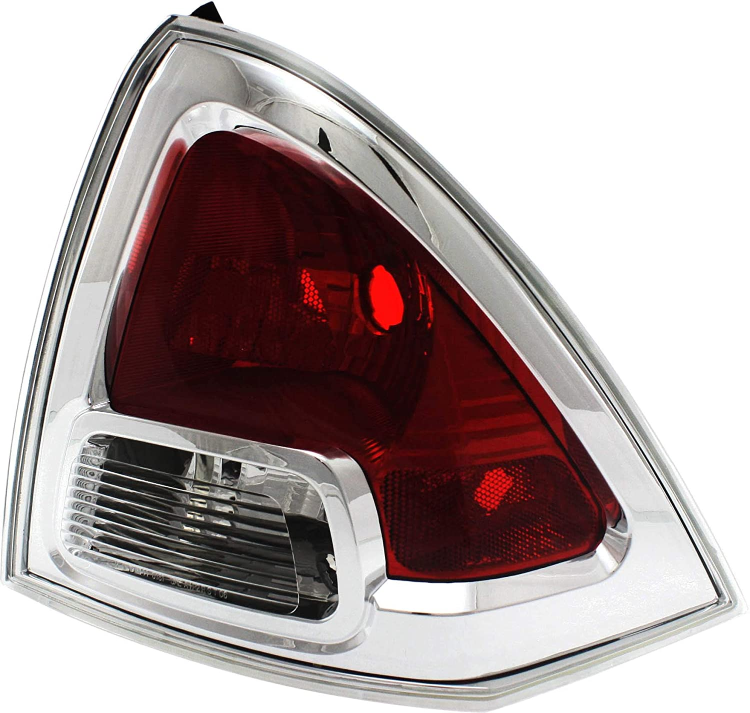 Tail Light Lens and Housing Compatible with 2006-2009 Ford Fusion - CAPA Passenger Side