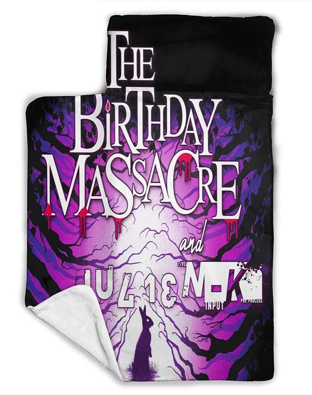 The Birthday Massacrestacked Nap Mats for Children Blankets Super Soft Microfiber for Children Bedding Preschool Or Kindergarten - Suitable for Sleeping Infants
