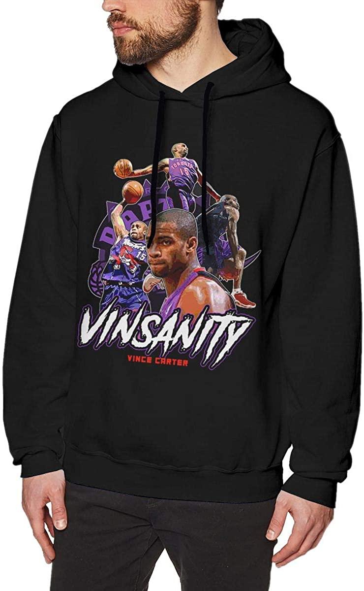Vince-Carter Classic Mens Sweater Hooded Sweatshirt
