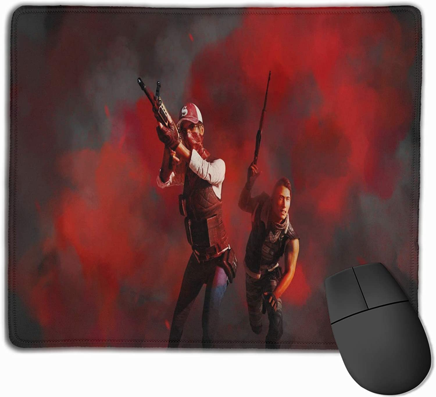 Pubg-32 Mouse Pad with Stitched Edge Non-Slip Rubber Base Mousepad for Computer, Laptop, Home, Office & Travel