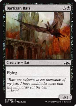Magic: The Gathering - Bartizan Bats - Foil - Guilds of Ravnica - Common