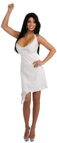 Jersey Shore Jwoww Halter Dress and Enhancements Costume