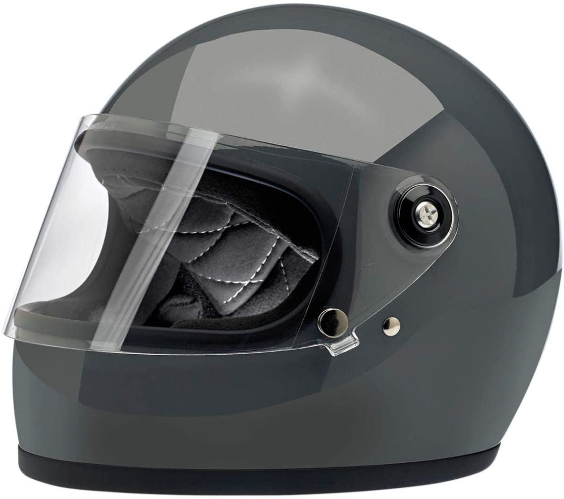 Biltwell Gringo S Helmet (Medium/DOT/ECE) (Gloss Storm Grey)