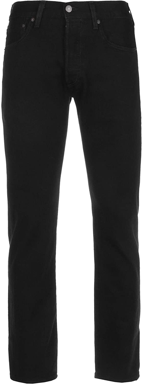 Levi's Men's 501 Original Jeans, Black, 36W x 34L